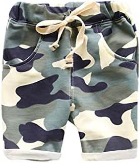 Domeiland Summer Children's Clothing Boys Girls Harem Camouflage Short Pants