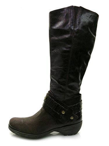 Neuf 2914 Véritable Femmes Chaussures Pour Bottines Lamica Marron Bottes Cuir TaOxaq0