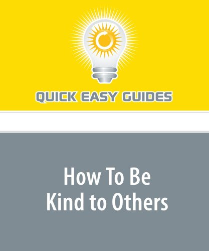 How To Be Kind to Others: A Worksheet ebook