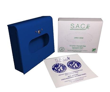 Toalla Sanitaria eliminación bolsa y dispensador de caja de, formato: Amazon.es: Electrónica