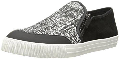 Elie Tahari Donna El-viceroy Fashion Sneaker Nero / Nero / Bianco