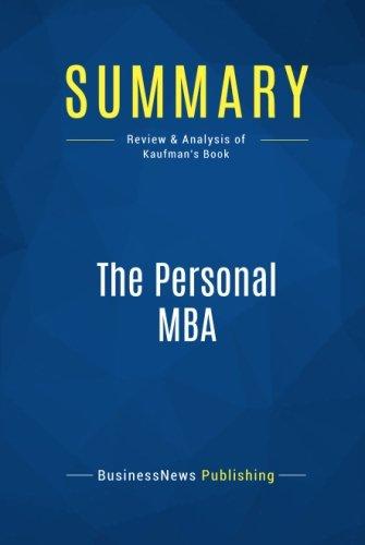 personal mba kaufman - 6