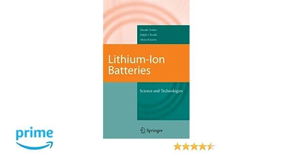 Lithium ion battery advantages