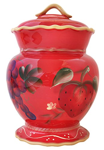 Crimson Orchard Cookie Jar, 82776 By - Cookie Jar Grapes