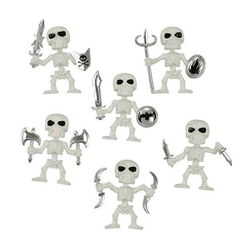 (Plastic Skeleton Figures (72)