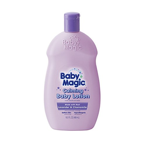 Baby Magic Calming Baby Lotion, Lavender and Chamomile, 16.5 Ounces (Pack of 6) by Baby Magic