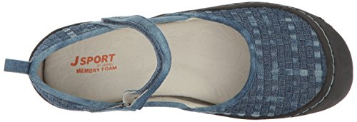Jsport By Jambu Womens Cara Walking Shoe Denim