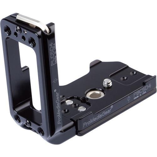 ProMediaGear Custom L-Bracket for Canon 5D Mark IV by ProMediaGear