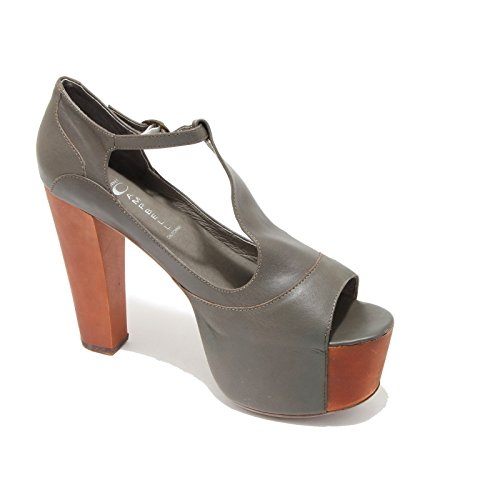 Donna Sandali Shoes Jeffrey 3351i Women Grigio Foxy Scarpe Wood Campbell Scuro 015wxqFdx