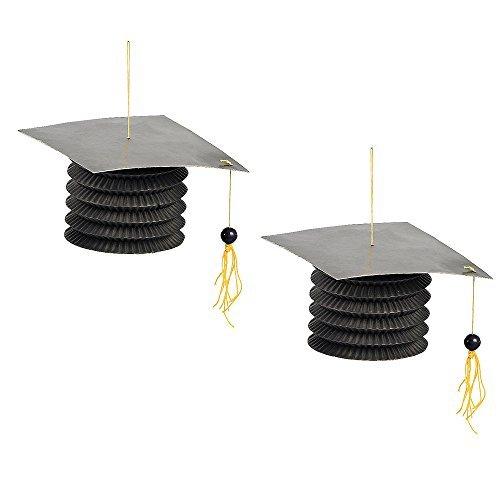 Fun Express Graduation Paper Party Lanterns - Set of 12 -