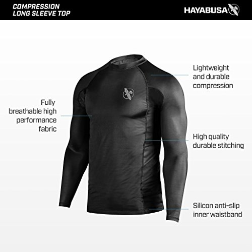 Hayabusa rash guard bjj 2019