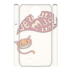 JJZU(R) Design Brand New 3D Phone Case with We're All Mad Here for SamSung Galaxy S4 I9500 - JJZU941539