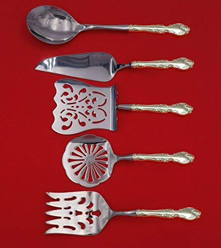 Melrose by Gorham Sterling Silver Brunch Serving Set 5-Piece HHWS Custom Made