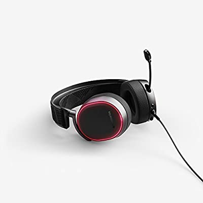 SteelSeries Arctis Pro High Fidelity Gaming Headset - Hi-Res Speaker Drivers - DTS Headphone:X v2.0 Surround for PC