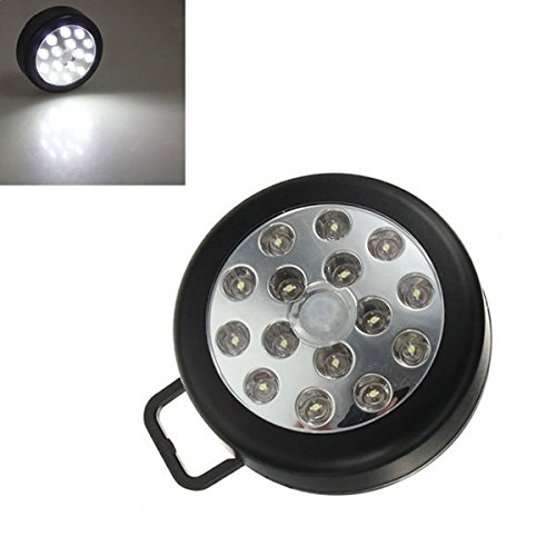 15LED PIR Auto Sensor Motion Detector Wireless Light White ( Black - America Eyeglasses Mall Of