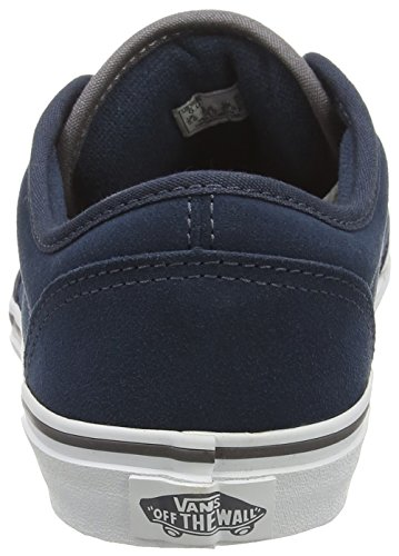 Navy Atwood Mixte Enfant Vans Varsity Baskets Basses Gray Bleu 0dPnCqn