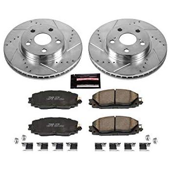 2011 2012 2013 Fit Lexus CT200h OE Replacement Rotors w//Ceramic Pads F
