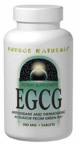 Source Naturals 350mg EGCG du thé vert, 120 Comprimés