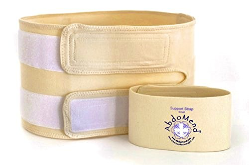 C-Section Recovery Kit Deluxe - Bellyluv Band Aids,Belts, Massage/Wound Therapy DVD and Skin Brush (Size Medium) by Abdomend (Image #4)