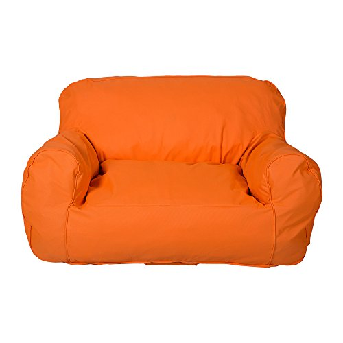 KARMAS PRODUCT Childrens Sofa Self-rebound Foam Couch for Kids Double-kid TV Lounge Furniture Junior Chair Loveseat