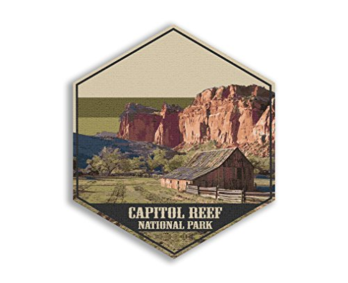 Printed Marketplace National Park Poster Collection-Canvas Art collection-Collect them all! (Capital Reef National Park)
