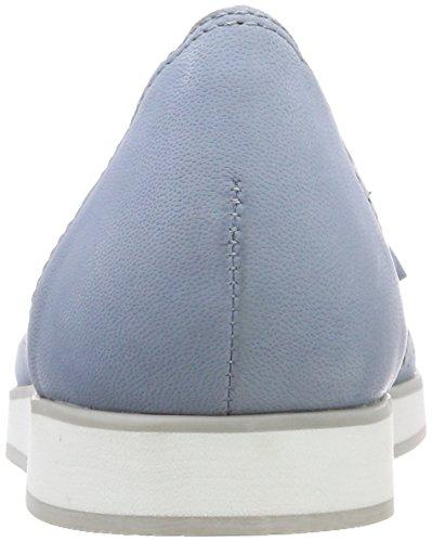 Closed Blue Women's Blue 852 Caprice Toe Ballet Nubuc Lt 22120 Flats ZHnSq