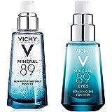 Kit Hidratación Mineral 89: Suero Facial Mineral 89 50 ml+ Contorno de Ojos 15 ml