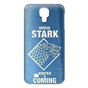 Loud Universe Samsung Galaxy S4 House Stark Winter Is Coming Print 3D Wrap Around Case - Blue/White