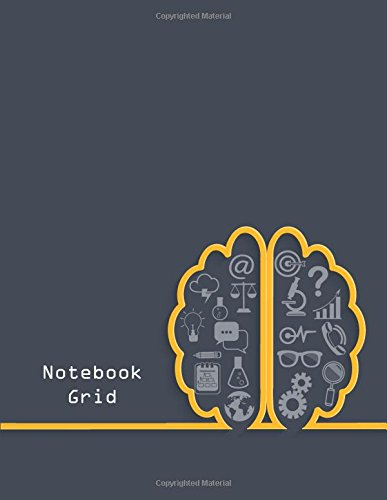 """Download Notebook grid: Brainstorming concept  : Notebook Journal Diary, 110 pages, 8.5"""" x 11"""" pdf epub"""