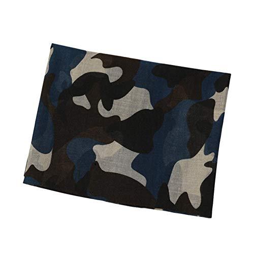 Alian Châle Écharpe Doux Femmes Chaude Malachite Allumette Imprimé Motifs De Camouflage Tous Pour Blue rrdvwPq