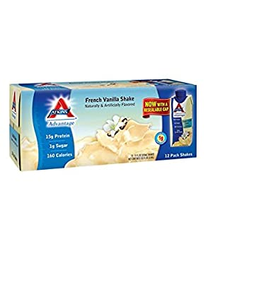 Atkins Advantage French Vanilla Shake - 11 fl. oz. - 12 ct.
