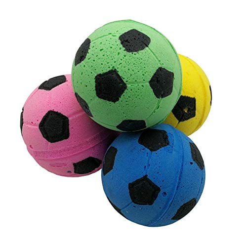 BCQLI A Foam Ball That Bounces, Used for Kitty Toys, 12 Ball ()