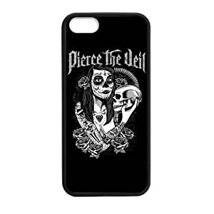 Casebynow Pierce The Veil Quotes PTV Plastic TPU Case Cover Skin For iphone 5S