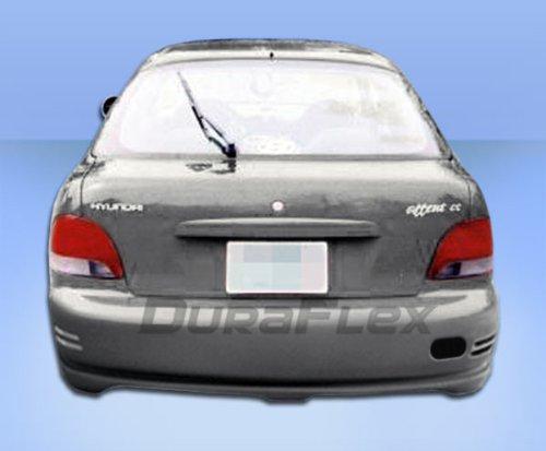 - Duraflex Replacement for 1995-1999 Hyundai Accent HB Evo Rear Bumper Cover - 1 Piece
