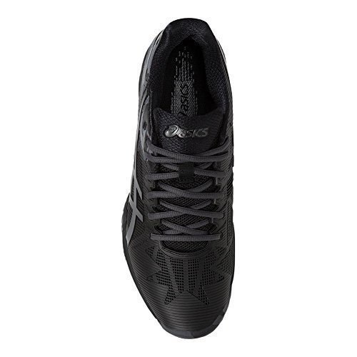 ASICS Men's Gel-Solution Speed 3 L.E. Black/Dark Grey/Phantom 11.5 D US by ASICS