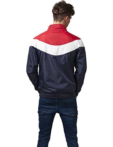Mehrfarbig Hombre Urban para Red Nvy 858 Wht Arrow Chaqueta Zip Jacket Classics 4a401