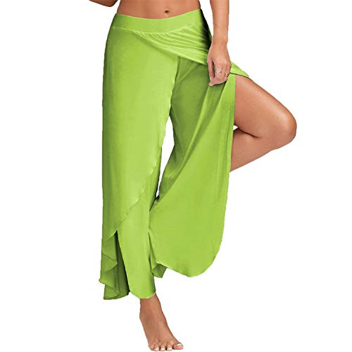 HOUBL M-XXXXXL 2019 Casual Palazzo Pants Hoge Split for sale  Delivered anywhere in Canada