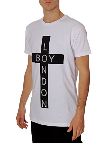 T-shirt Donna Boy London L Bianco Bl613 1/7 Primavera Estate 2017