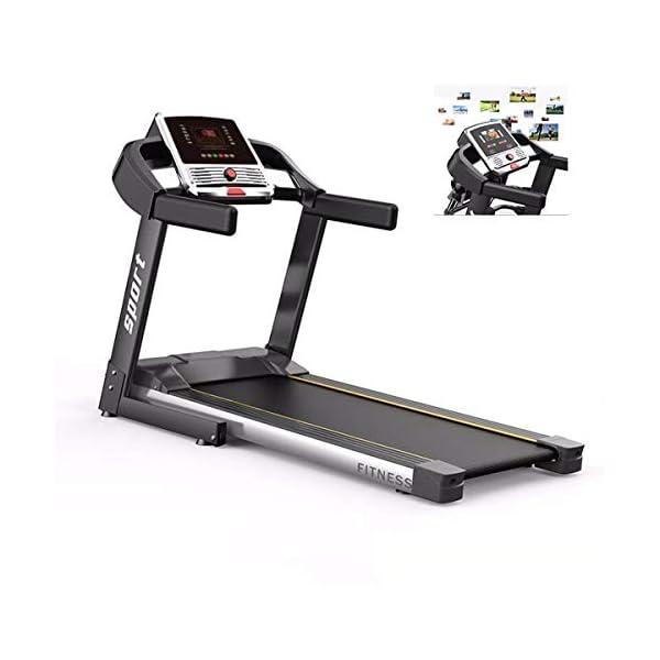 Fitness Club Tapis roulant Professionale, Pieghevole, Macchine da Passeggio Carico 150 kg, Cyclette Compatibile WiFi… 1 spesavip
