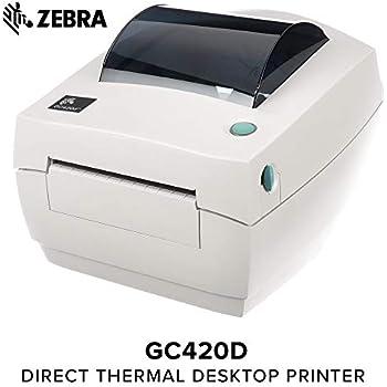 Amazon com: Zebra - GK420d Direct Thermal Desktop Printer for Labels