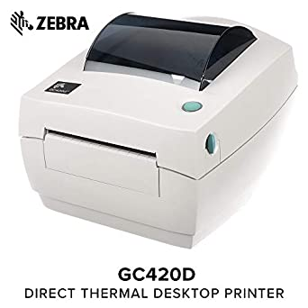 051e5486f2eb ZEBRA- GC420d Direct Thermal Desktop Printer for Labels, Receipts, Barcodes,  Tags,