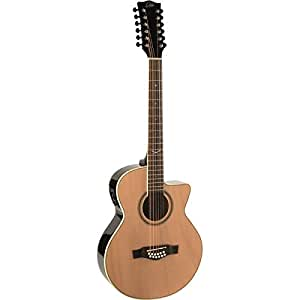 eko guitars 06217025 nxt series 12 string auditorium cutaway acoustic electric. Black Bedroom Furniture Sets. Home Design Ideas