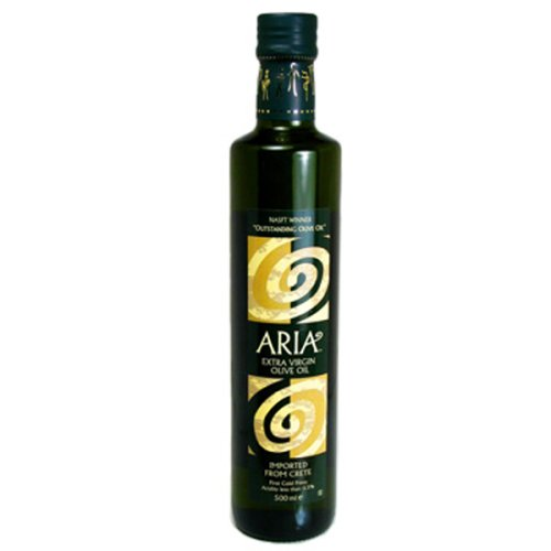 Aria Extra Virgin Olive Oil, 16.9-Ounce Bottle (Pack of 3)