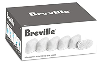 Breville Replacement Water Filters, White, 4 - BREBWF100 (B000VX44OO) | Amazon price tracker / tracking, Amazon price history charts, Amazon price watches, Amazon price drop alerts