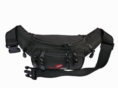 Riñonera Cintura Mochila Bum Bolsas up to 116.8cm cintura Roamlite RL12M - Azul Marino negro