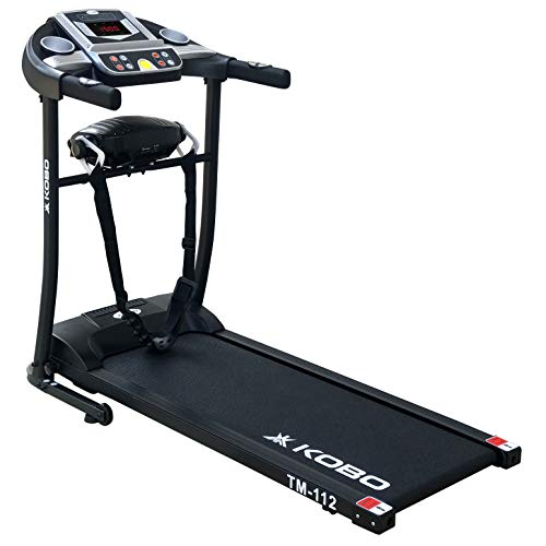 Kobo 1 H.P Continuous Motorised Fitness Treadmill Multi Function Massager Vibrator with Warranty Model Price & Reviews