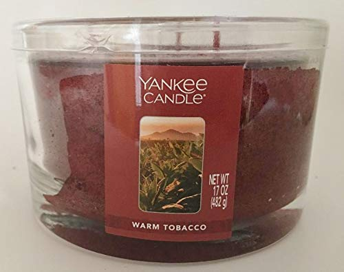 Yankee Candle 3-Wick WARM TOBACCO Dish Candle