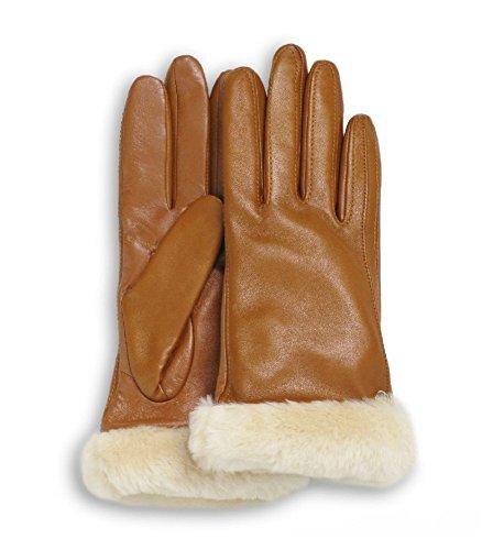 UGG Women's Classic Leather Smart Glove Chestnut SM