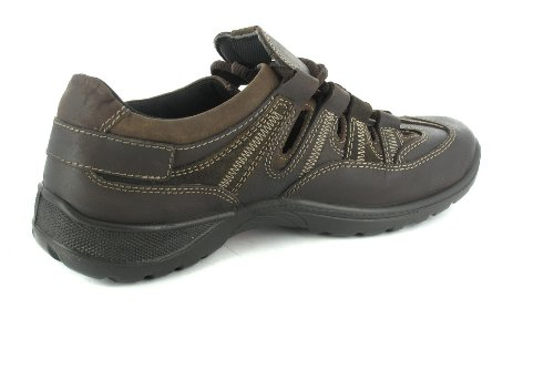 Jomos Herrenschuhe Sandalen offene Schuhe von Größe 38 - 53 Braun, Größe:41