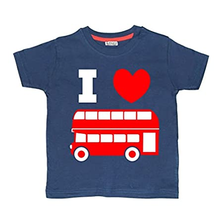 Edward Sinclair I Love Buses' Children's T-Shirt 41GvIvyL3hL